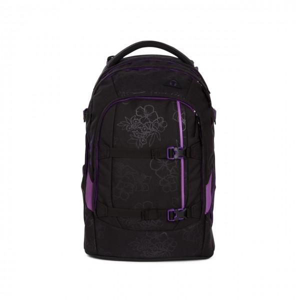 pack-Schulrucksack Purple Hibiscus