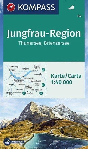 Wanderkarte 84 Jungfrau-Region