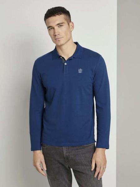 Polo-Shirt basic langarm