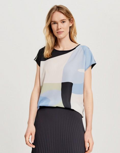 Print-Shirt Safeda shapes