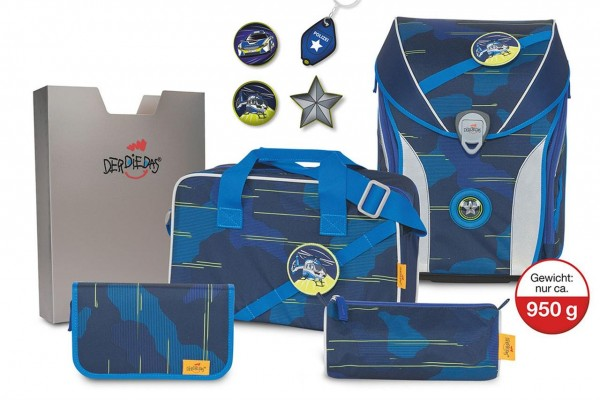 SET ERGOFLEX MAX BLUE LASER 5-tlg.