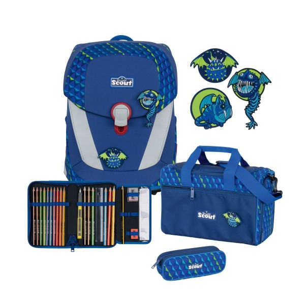 SCOUT SUNNY II 4-SET FLYING MONSTERS MIT SNAPS
