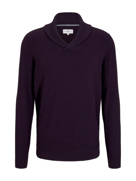 mouline sweater with structure