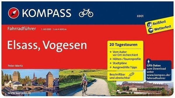Fahrradführer 6901 Elsaß, Vogesen