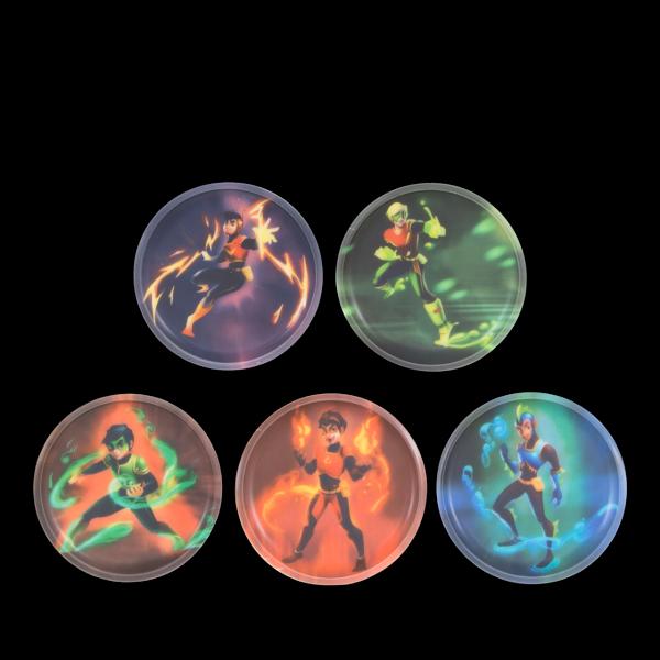 Kletties-Set Superhelden