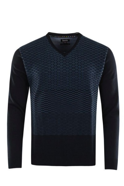He.- Jacquard-Pullover