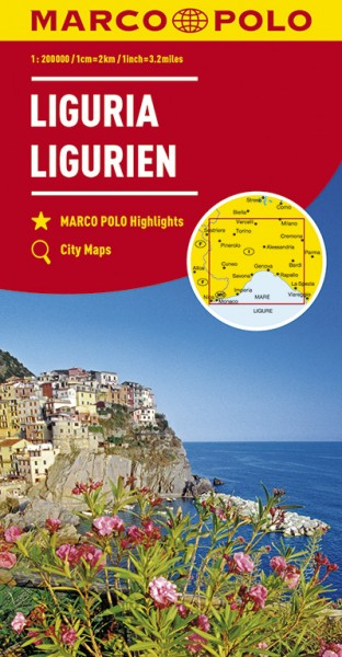 Regionalkarte I05 Ligurien 1:200.000