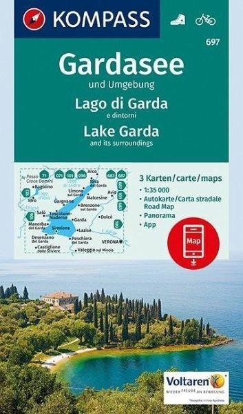 Wanderkarte 697 Gardasee u Umgebung 35T