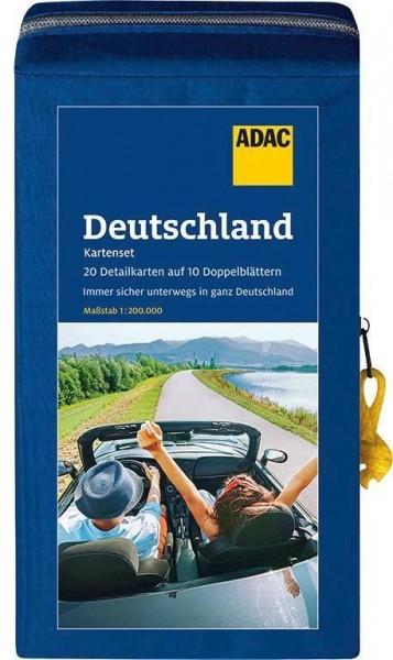 Staßen-KartenSet Deutschland 21/22