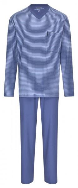 Extra Light Schlafanzug lang, V-Ausschnitt