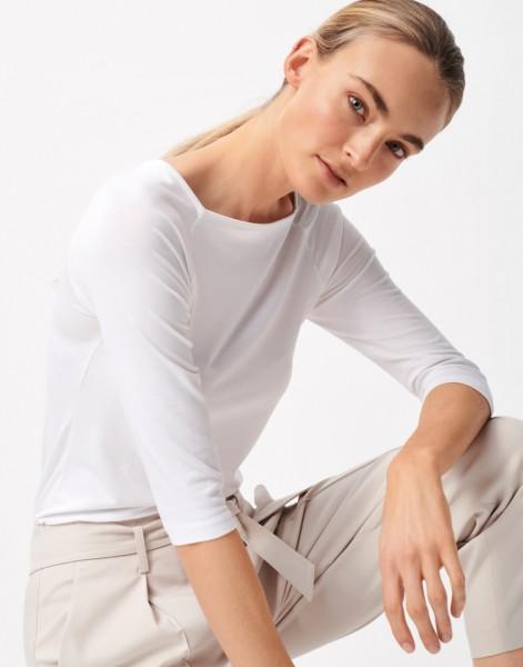Langarmshirt Kobia, white