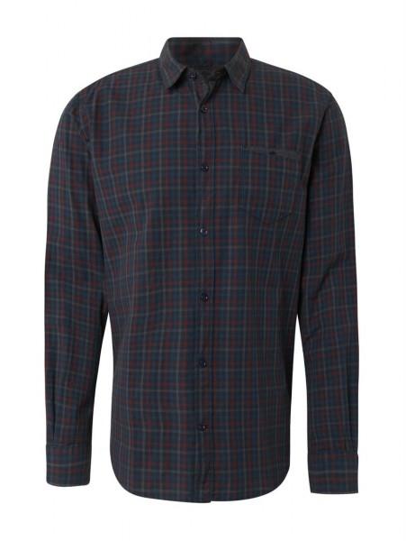 ray overdyed check shirt
