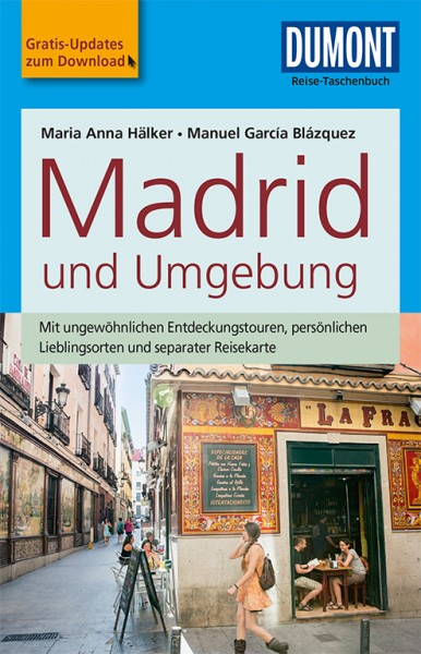 Reise-Taschenbuch Madrid und Umgebung