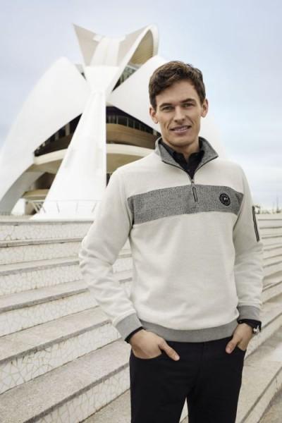 He.-Sweatshirt Polo-Style