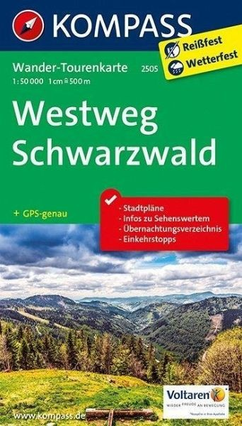 KV WTK 2505 Westweg Schwarzwald 50T