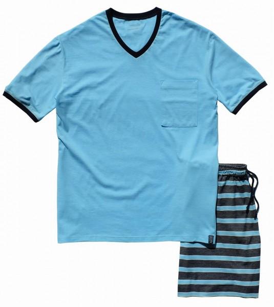 Costitx Schlafanzug kurz V-Ausschnitt