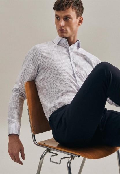 Bügelleichtes Twill Business Hemd