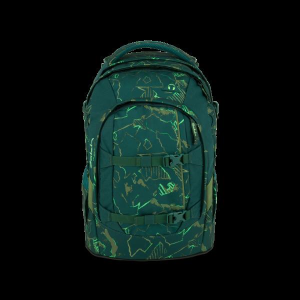 pack-Schulrucksack Green Compass