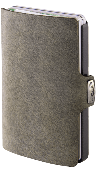 Soft-Touch,silbermetallic olive