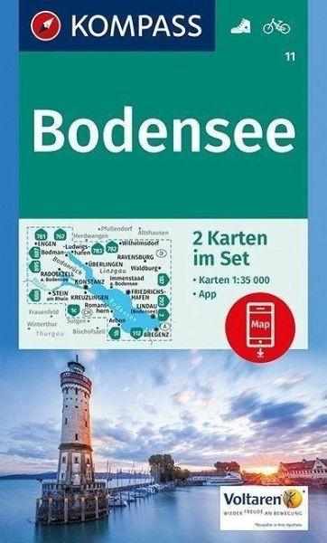 Wanderkarte 11 Bodensee 35T