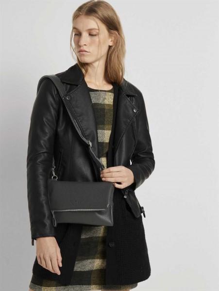 VALESKA Flap bag, black