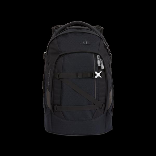 pack-Schulrucksack Carbon Black