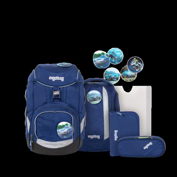 pack Schulrucksack-Set BlaulichtBär