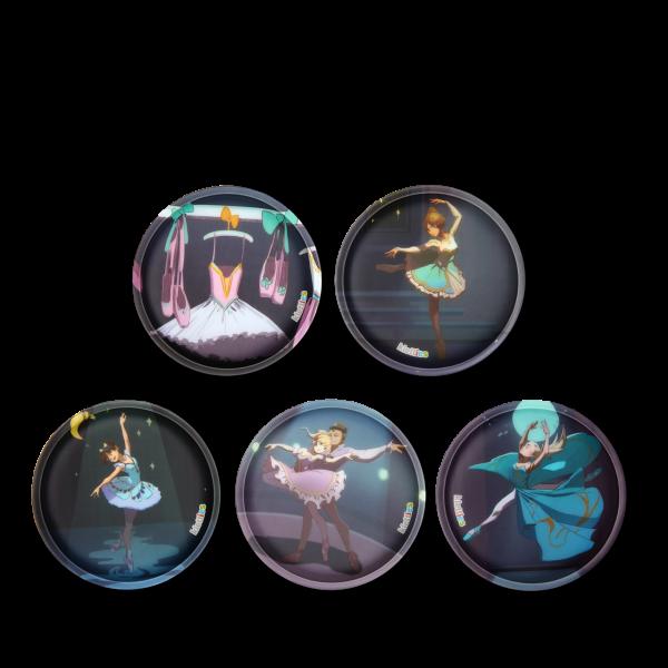 Kletties-Set Balletttänzerin