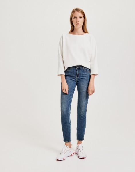 Damen-Jeans Ely denim tape