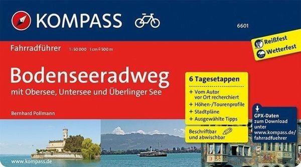Fahrradführer 6601 Bodenseeradweg