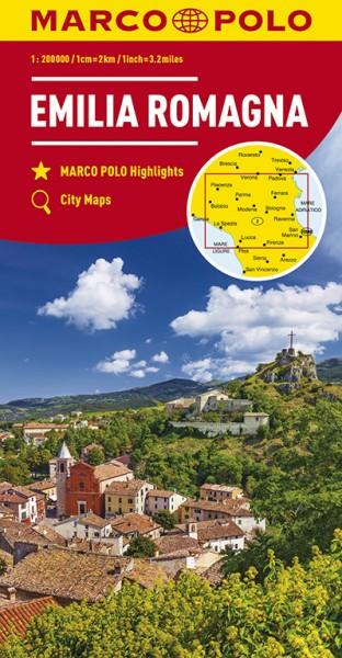 Regionalkarte  I06 Emilia Romagna 1:200.000