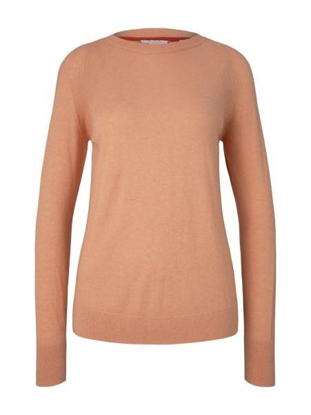 Pullover round neck