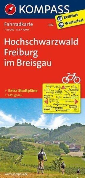 Fahrrad-Wanderkarte 3112 Hochschwarzwald 1:70 000