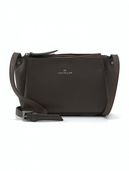 TANIA Cross bag, dark brown