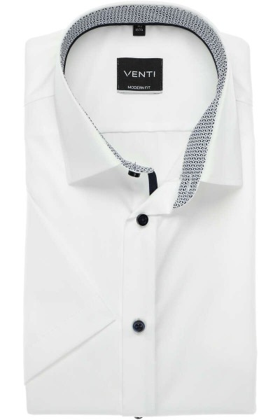 Herren-Hemd Modern Fit 1/2Arm