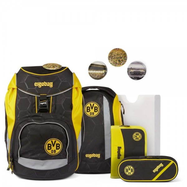 pack Schulrucksack-Set Borussia Dortmund