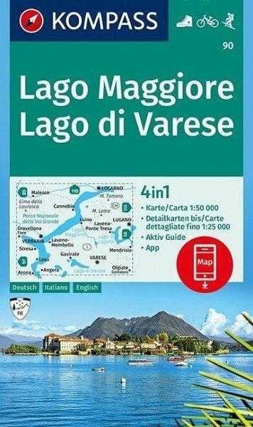 Wanderkarte90 Lago Maggiore