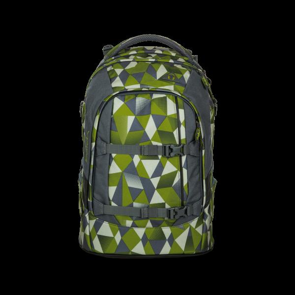 pack-Schulrucksack Green Crush