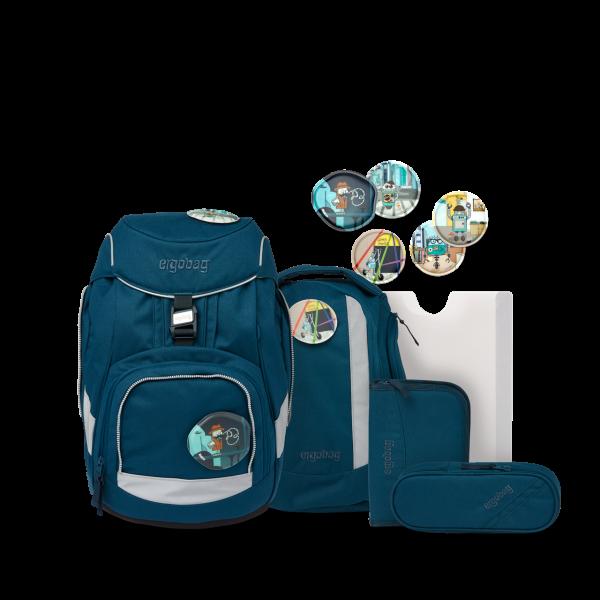 pack Schulrucksack-Set RobotBär