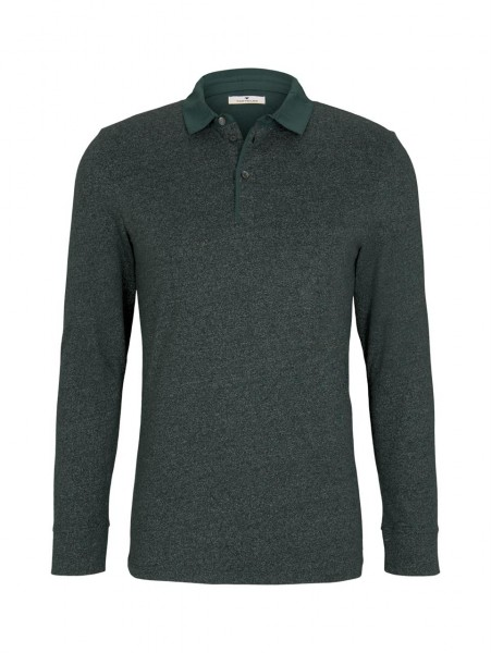 smart polo with shirt detail