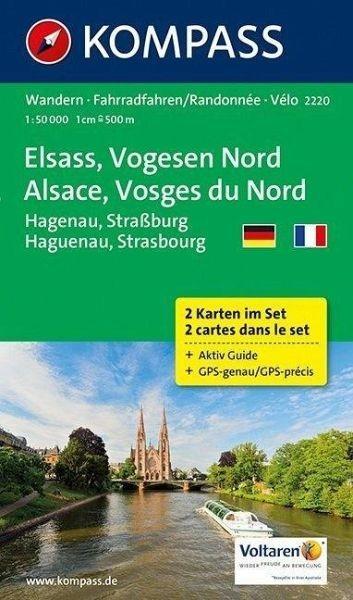 Wanderkarte 2220 Elsass/Vogesen Nord