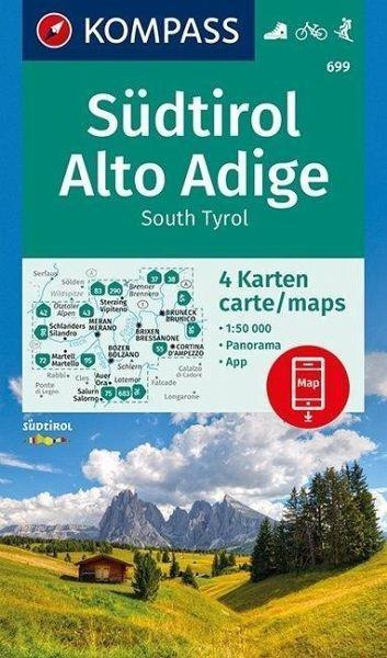 Wanderkarte 699 Südtirol