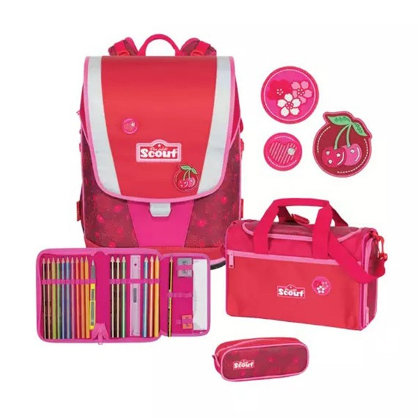 ULTRA SET 4TLG CHERRY RED