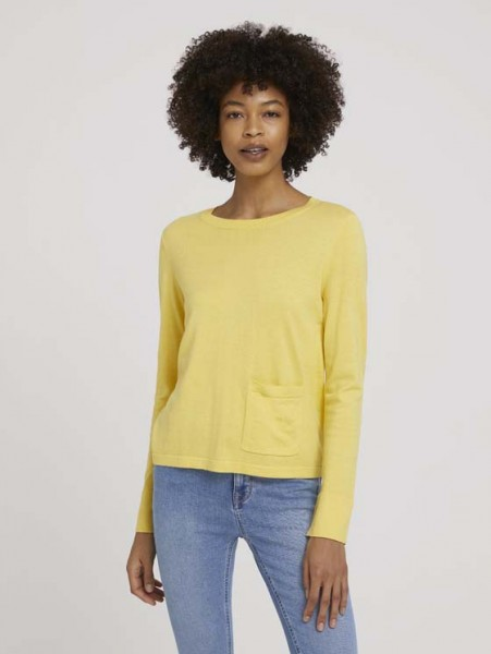 Weicher Pullover mit Bio-Baumwolle